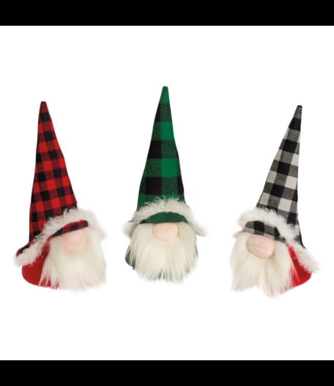 Douglas Douglas Plush Plaid Holiday Gnomes