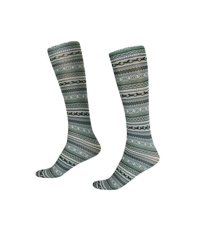 Kerrits Fair Isle Boot Sock