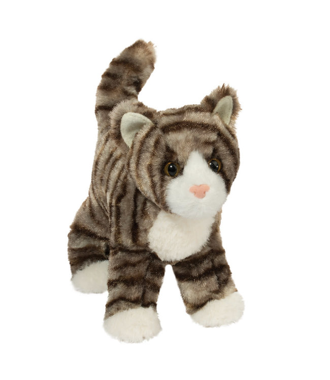 Douglas Douglas Zigby Gray Stripe Cat