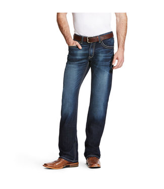 Ariat Men's M4 Low Rise Stretch Adkins Boot Cut Jean