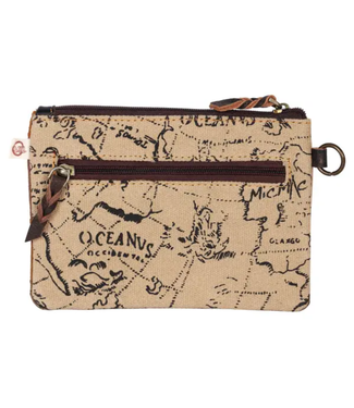 Vaan & Co Small Upcycled Leather Pouch