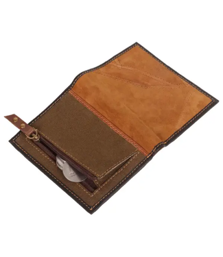 Vaan & Co Upcycled Leather Wallet S2V-805