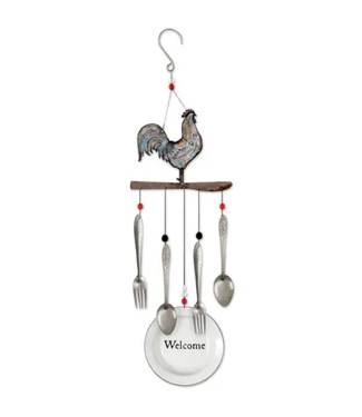 """Sunset Vista Designs Rooster Chime 28"""""""