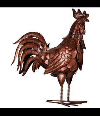 """Sunset Vista Designs Copper Rooster 20"""""""