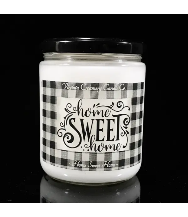 Virginia Creamery Candle Co. Christmas Hearth Sented 16oz Jar Candle