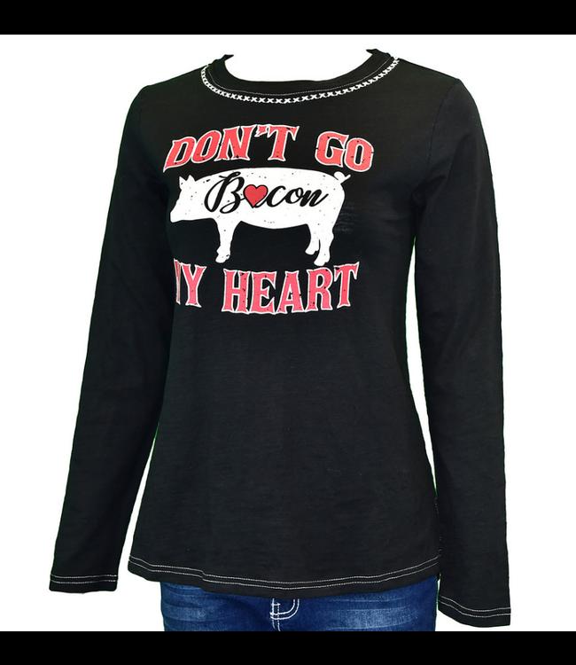 Cowboy Hardware Bacon My Heart L/S Tee
