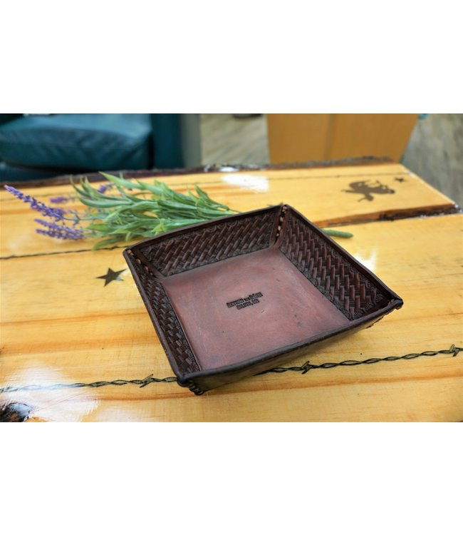 Beyond the Barn Hand Tooled Valet Tray