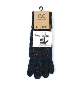 C.C. Flecked Smart Tip Glove