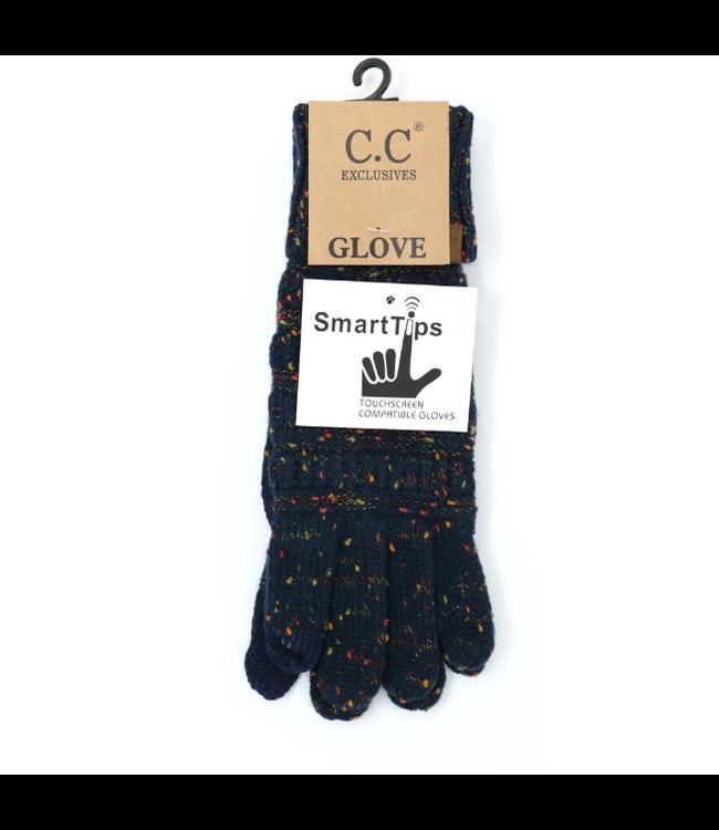 C.C. Flecked Smart Tip Glove