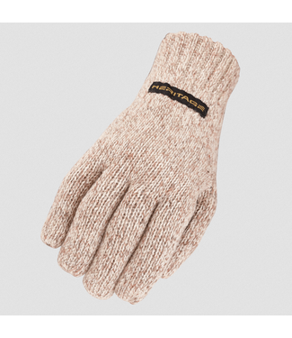 Heritage Riding Gloves Ragg Wool Glove Oatmeal