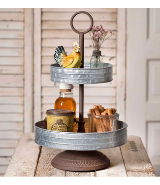 CTW Home Collection Two-Tier Annabeth Tray