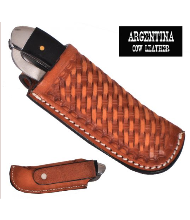 Showman Argentina Cow Leather Knife Sheath