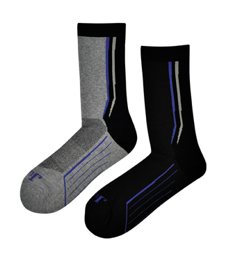 Justin Justin Technical Boot Crew Socks 2 Pack