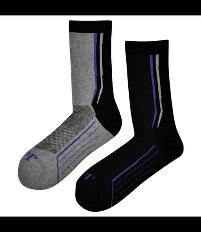 Justin Justin Technical Boot Crew Socks 2 Pack