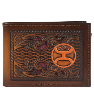 Hooey Hooey Bifold Wallet with Orange Logo