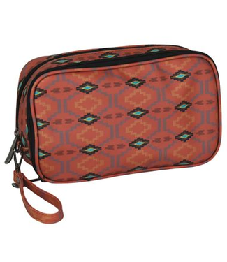 Justin Justin Double Cosmetic Bag