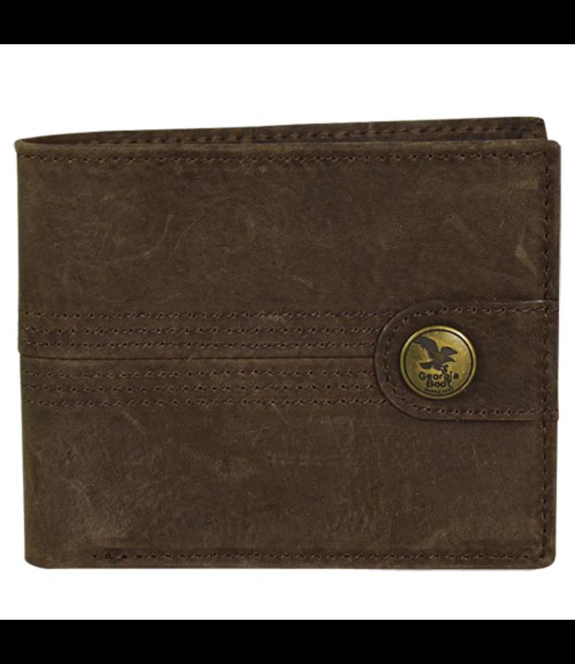 Georgia Boot Men's Wallet Textured Brown