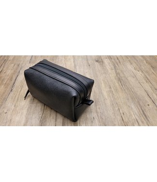 Beyond the Barn Leather Shave Kit Toiletry Bag