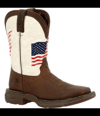 Durango Lil' Rebel Distressed Flag Kid's Boots