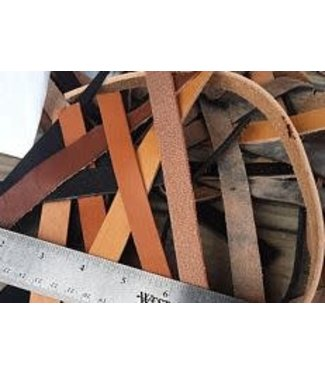 Beyond the Barn Leather Strap Scrap Bag 2 lb