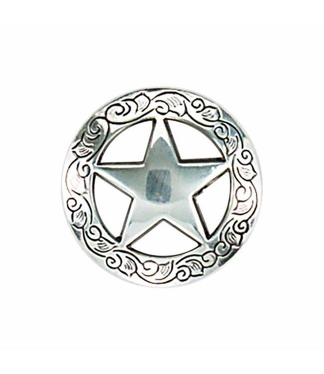 "1 3/4"" Ranger Star Concho"