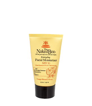 The Naked Bee Facial Moisturizer with SPF 30 1.5 oz. Orange Blossom Honey