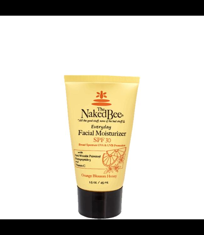The Naked Bee Facial Moisturizer with SPF 30 1.5 oz. Orange Blossom Honey