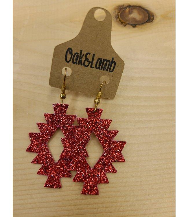 Oak&Lamb Glittering Aztecs Earrings