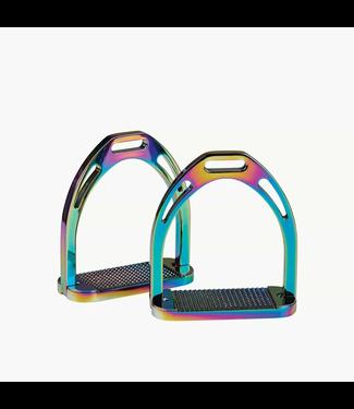"Korsteel Rainbow Aluminium Stirrups 4.5"""