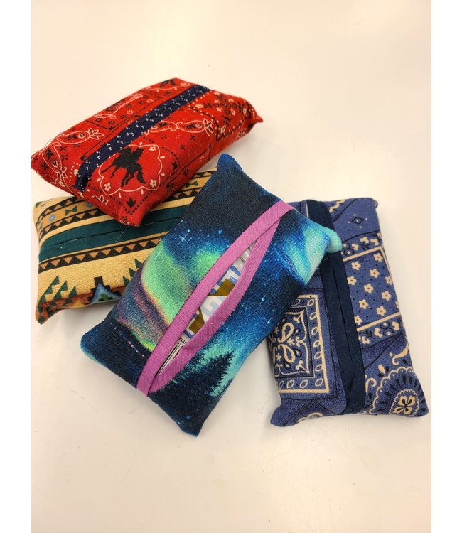 3HapppyMamas Handmade Kleenex To-Go Set - Assorted Colors