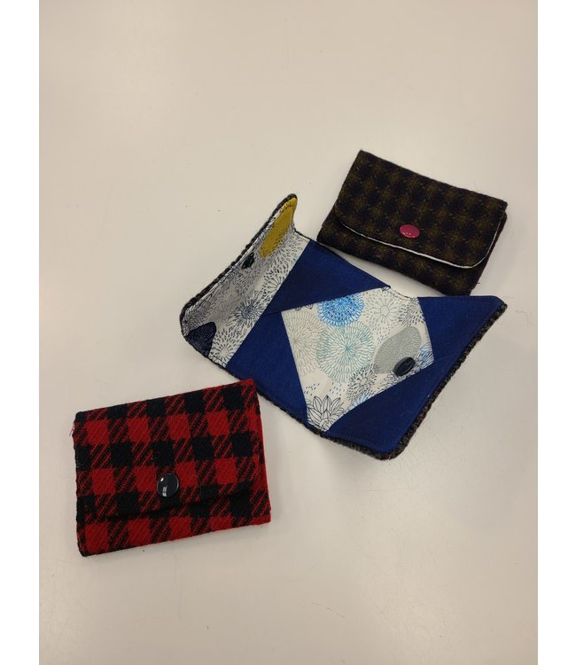 3HapppyMamas Handmade Wool Card Keepers - Assorted Colors
