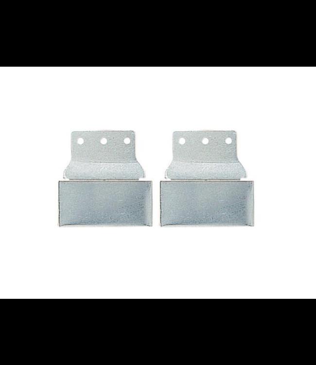 "Weaver Aluminum Blevins Buckles, 3"" All Metal, Horizontal"
