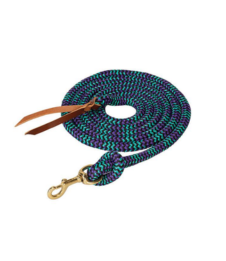 """Weaver Poly Cowboy Lead with Snap, 5/8"""" x 10'"""