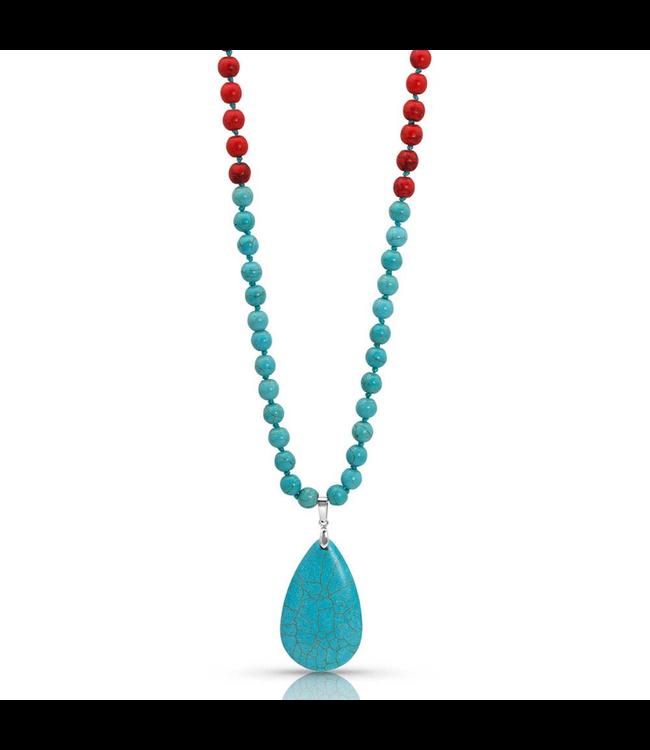 Montana Silversmith Colors of Strength Bead Attitude Necklace
