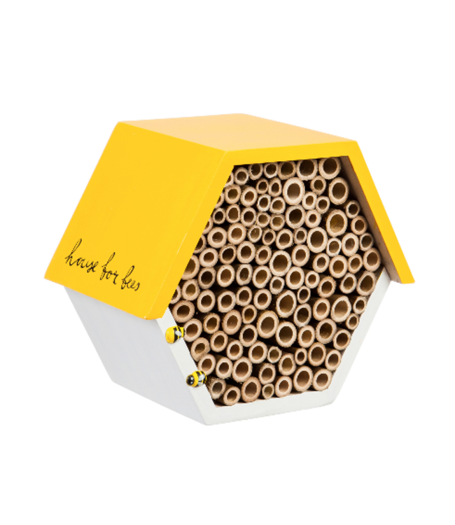 "Evergreen Enterprises 7.25"" Hexagonal Busy Bee House"