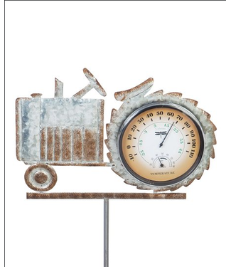 Evergreen Enterprises Galvanized Tractor Thermometer