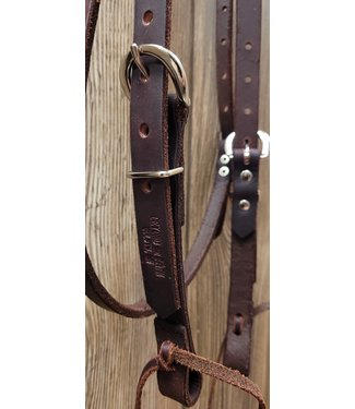 Beyond the Barn Handmade Leather Browband Headstall