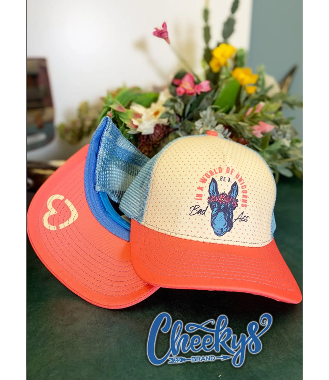 Cheeky's Boutique In A World Of Unicorns Be A Badass Cap