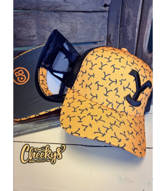 Cheeky's Boutique Y Yellowstone Brand Criss Cross Ponytail Cap