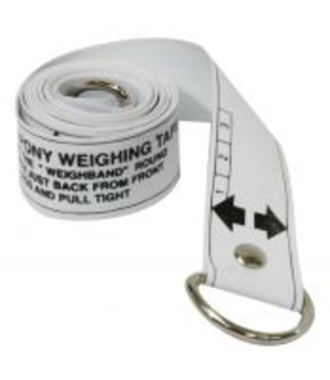 Horse and Pony Height and Weight Tape