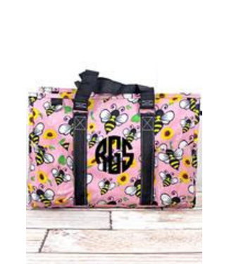 NGIL Busy Bee Utility Tote with Black Trim