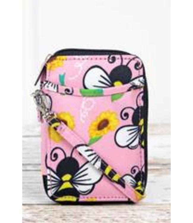 NGIL Busy Bee Wristlet