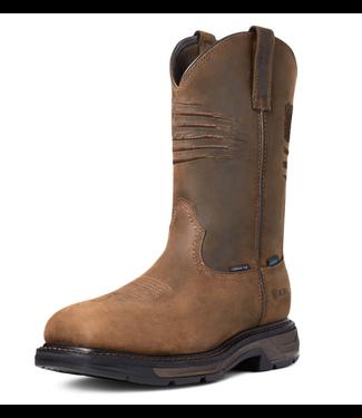 Ariat WorkHog XT Patriot Waterproof Carbon Toe Work Boot