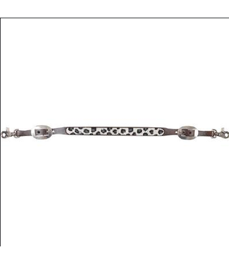 Cashel Grey Cheetah Beaded Wither Strap