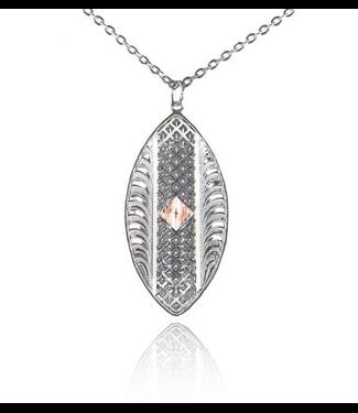 Montana Silversmith Two-Tone Pendant Necklace