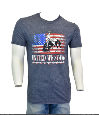 Cowboy Hardware Mens United We Stand Tee