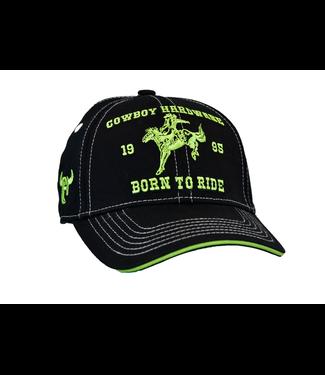 Cowboy Hardware Toddler Born To Ride Velcro Cap
