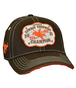 Cowboy Hardware Toddler Champion Buckle Velcro Cap