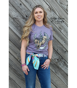 Rowdy Crowd Clothing Bellagio Bronc Tee