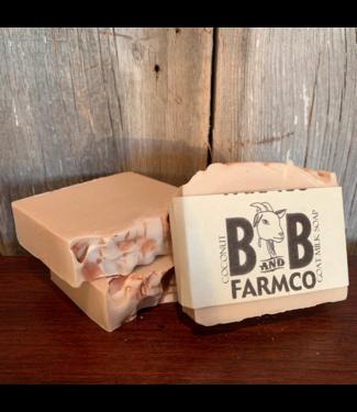 B and B FarmCo Goat Milk Soap